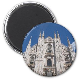 Duomo Milano Gothic Cathedral Church Milan Italy Magnet