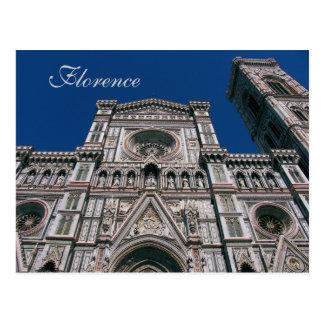Duomo, o Santa María Del Fiore, Florencia, Italia Tarjetas Postales