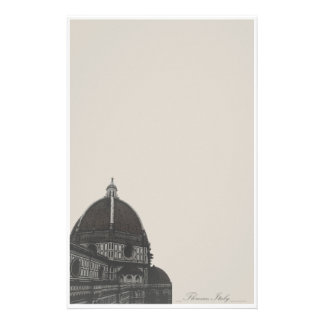 Duomo of Florence Italy Stationary Stationery