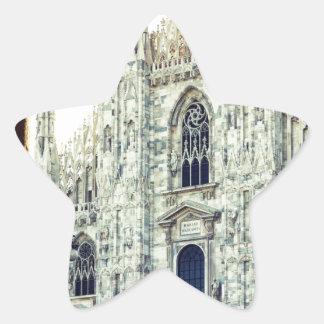 Duomo of Milan Star Sticker