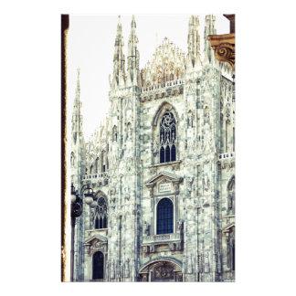 Duomo of Milan Stationery