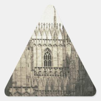 Duomo of Milan Triangle Sticker