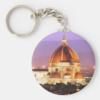 Duomo Photo basic button key chain