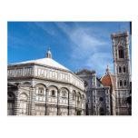 Duomo y Baptistry, Florencia Postal