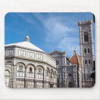 Duomo y Baptistry, mousepad de Florencia