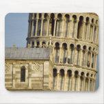 Duomo y torre inclinada, Pisa, Toscana, Italia Alfombrillas De Ratón