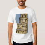 Duomo y torre inclinada, Pisa, Toscana, Italia Remera