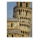 Duomo y torre inclinada, Pisa, Toscana, Italia Tarjeta De Felicitación
