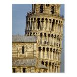 Duomo y torre inclinada, Pisa, Toscana, Italia Tarjeta Postal