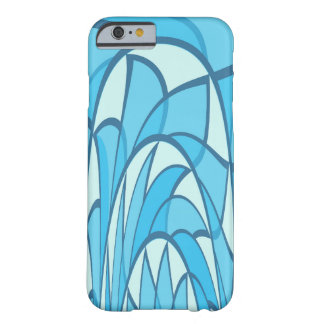 Duotone waves barely there iPhone 6 case