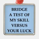 dup;icate bridge metal ornament