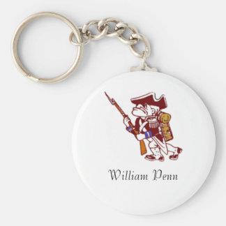 dup p, William Penn Keychain