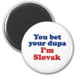 Dupa eslovaco 1 imán de frigorífico