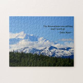Duplicación - Mtns es llamada/Denali - J Muir Puzzles Con Fotos