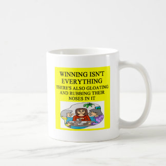 duplicate bridge and game players joke coffee mug