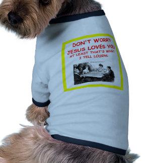duplicate bridge pet shirt