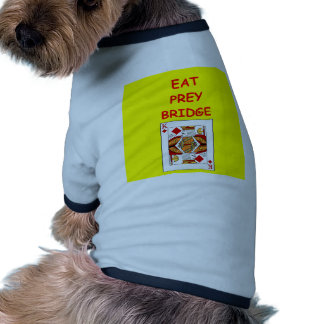 duplicate bridge dog shirt