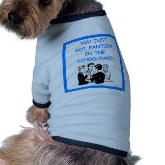 duplicate bridge doggie t-shirt