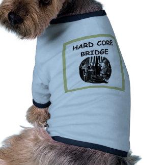 duplicate bridge dog tee shirt