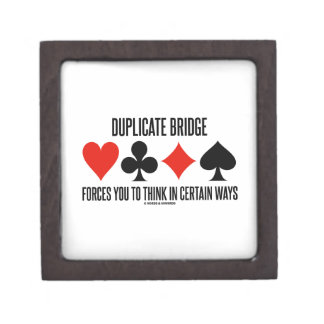 Duplicate Bridge Forces You To Think In Certain Premium Jewelry Box