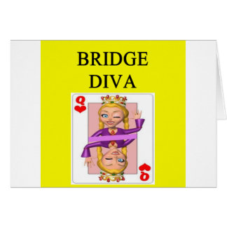 duplicate bridge game player card