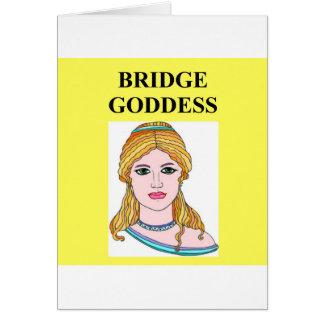 duplicate bridge game player greeting cards