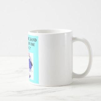 duplicate bridge game player coffee mug