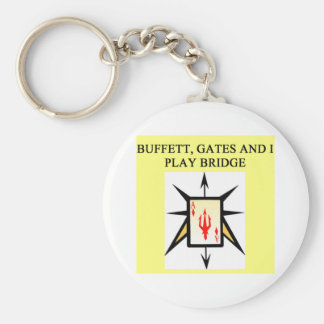 duplicate bridge game player keychain