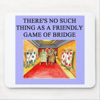 duplicate bridge game player mouse pad