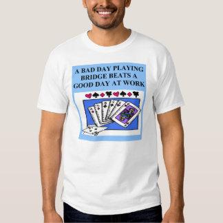 duplicate bridge game player shirts