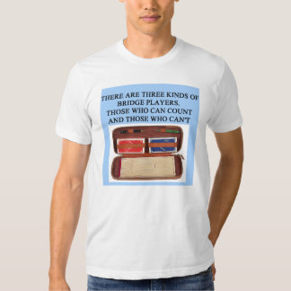 duplicate bridge game player tshirt