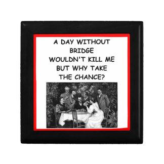 duplicate bridge keepsake box