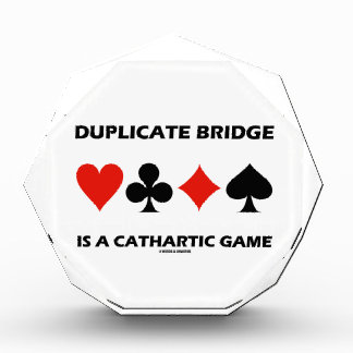 Duplicate Bridge Is A Cathartic Game (Card Suits) Awards