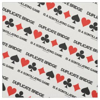 Duplicate Bridge Is A Scintillating Game Humor Fabric