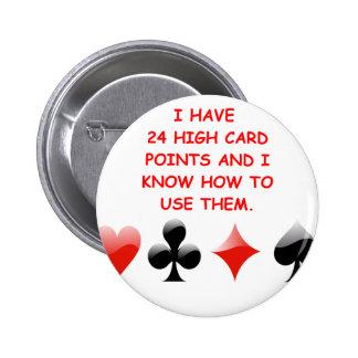 duplicate bridge joke 2 inch round button