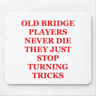 duplicate bridge jokes mousepads