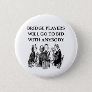 duplicate bridge jokes pinback button
