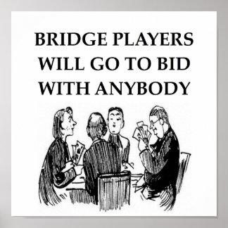duplicate bridge jokes poster