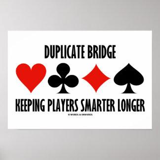 Duplicate Bridge Keeping Players Smarter Longer Poster