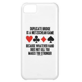 Duplicate Bridge Nietzschean Game Whatever Hand Cover For iPhone 5C