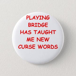 duplicate bridge pinback button