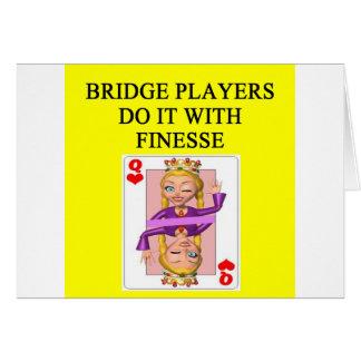 duplicate bridge player card