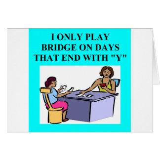 duplicate bridge player design greeting cards