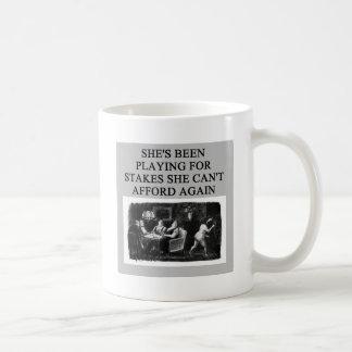 duplicate bridge player design coffee mug