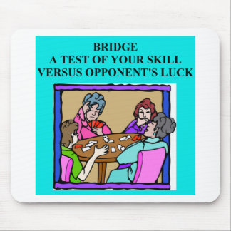 duplicate bridge player design mouse pad
