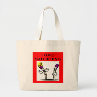 duplicate bridge player game matchpoints large tote bag