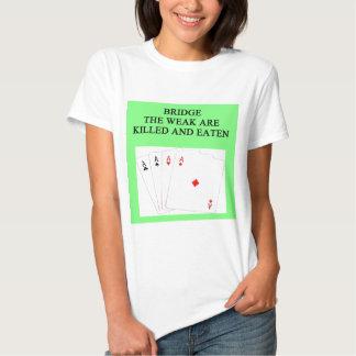 duplicate bridge player tee shirt