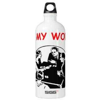 duplicate bridge SIGG traveler 1.0L water bottle