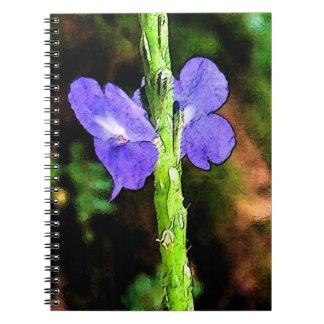 Duplicated Spiral Notebook