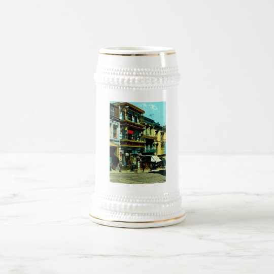 Dupont and Clay Streets Beer Stein